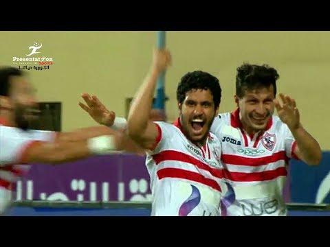 أهداف مباراة الزمالك vs الانتاج الحربي | 3 - 1 دور الـ 8 كأس مصر 2017 - 2018