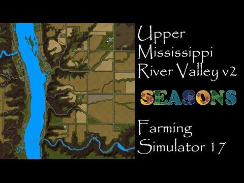 Farming Simulator 17 - First Impressions - Upper Mississippi River Valley V2 Beta