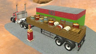 18 Wheeler Cargo Simulator · Game · Gameplay
