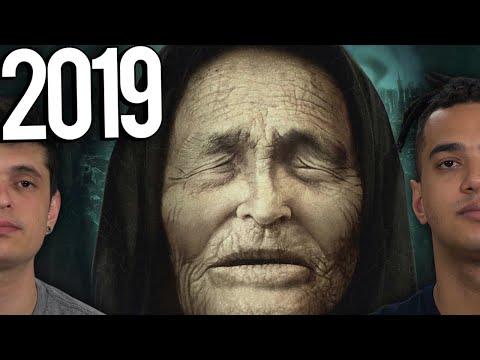 PREVISÕES DE BABA VANGA PARA 2019 - A VIDENTE CEGA