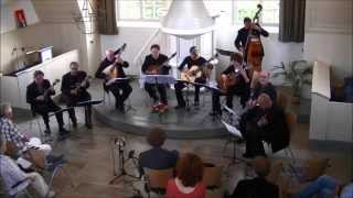 """The City Awakens"" - New American Mandolin Ensemble plays Emiel Stöpler"