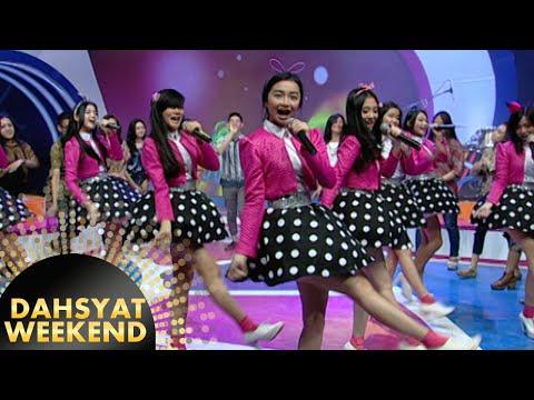 Teenebelle Dance & Nyanyi 'Happy Friends' [Dahsyat] [21 Nov 2015]
