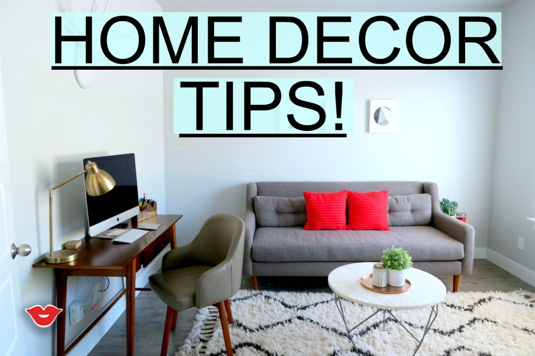 Home Decor Tips! | Michelle From Millennial Moms - Youtube
