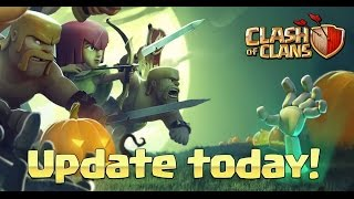 Halloween Update 4th Mortar Plus Skeleton Traps NEW Clash of Clans