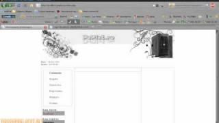 Установка формы входа и регистрации на php сайте