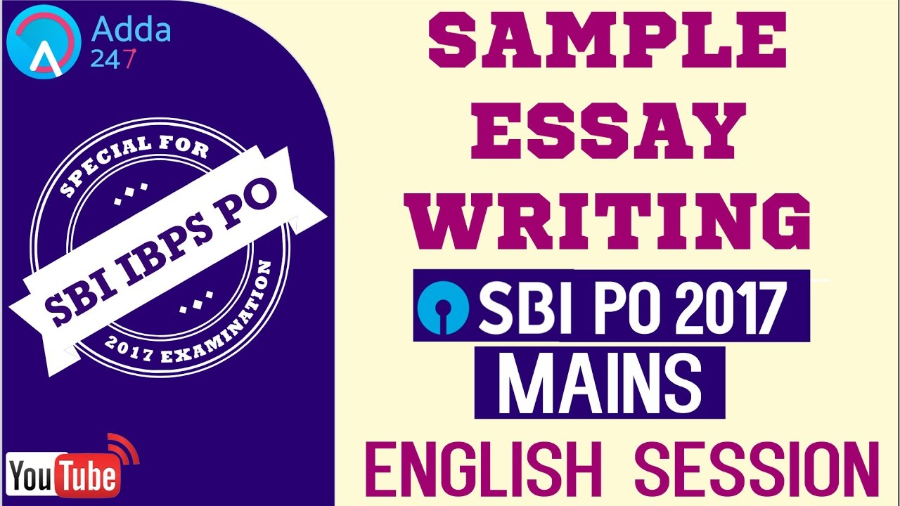 sample essay writing for sbi po mains  ransomware  english  sample essay writing for sbi po mains  ransomware  english  online  coaching for sbi ibps bank po   youtube