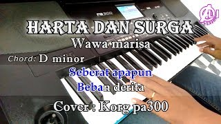 Download lagu HARTA DAN SURGA - Wawa Marisa - Karaoke Dangdut Korg Pa300