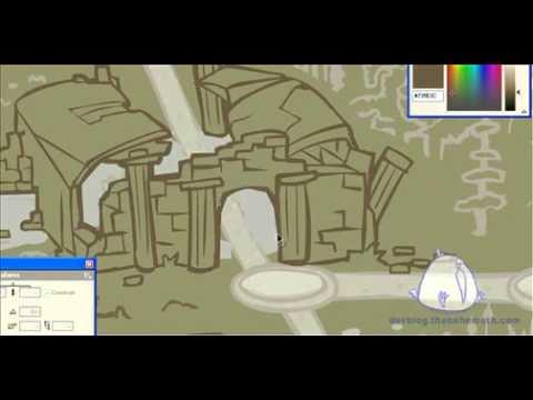 Castle Crashers - World Map - YouTube on