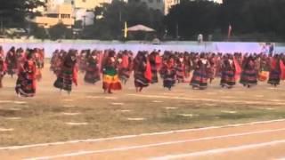 Lambada dance done by Nasr school girls