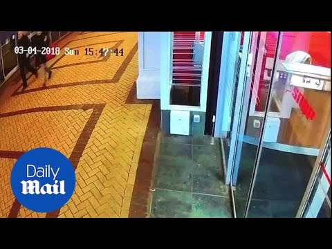 CCTV shows two people near Zizzi restaurant in Russian spy probe - Daily Mail