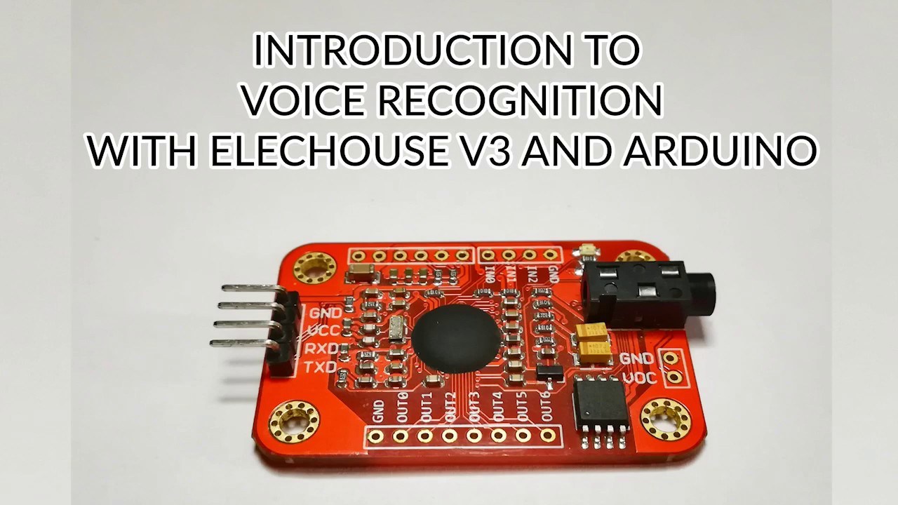 Introduction to voice recognition with elechouse v3 and arduino