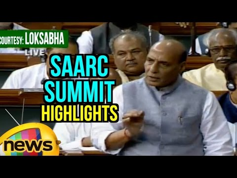 Rajnath Singh Summarises SAARC Summit Highlights | Lok Sabha | Parliament Session | Mango News