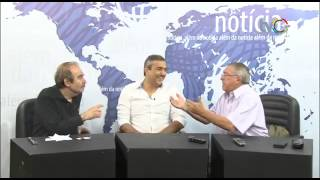 Além da Notícia - participação especial de Elias Tergilene - TVC
