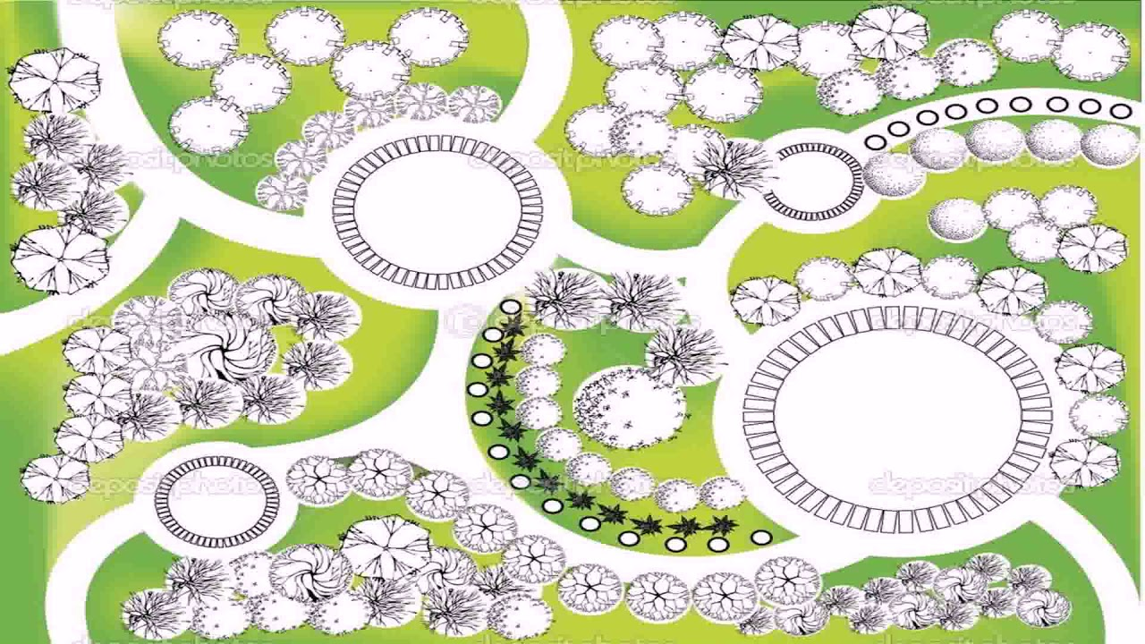 English Garden Landscape Design Plans Youtube
