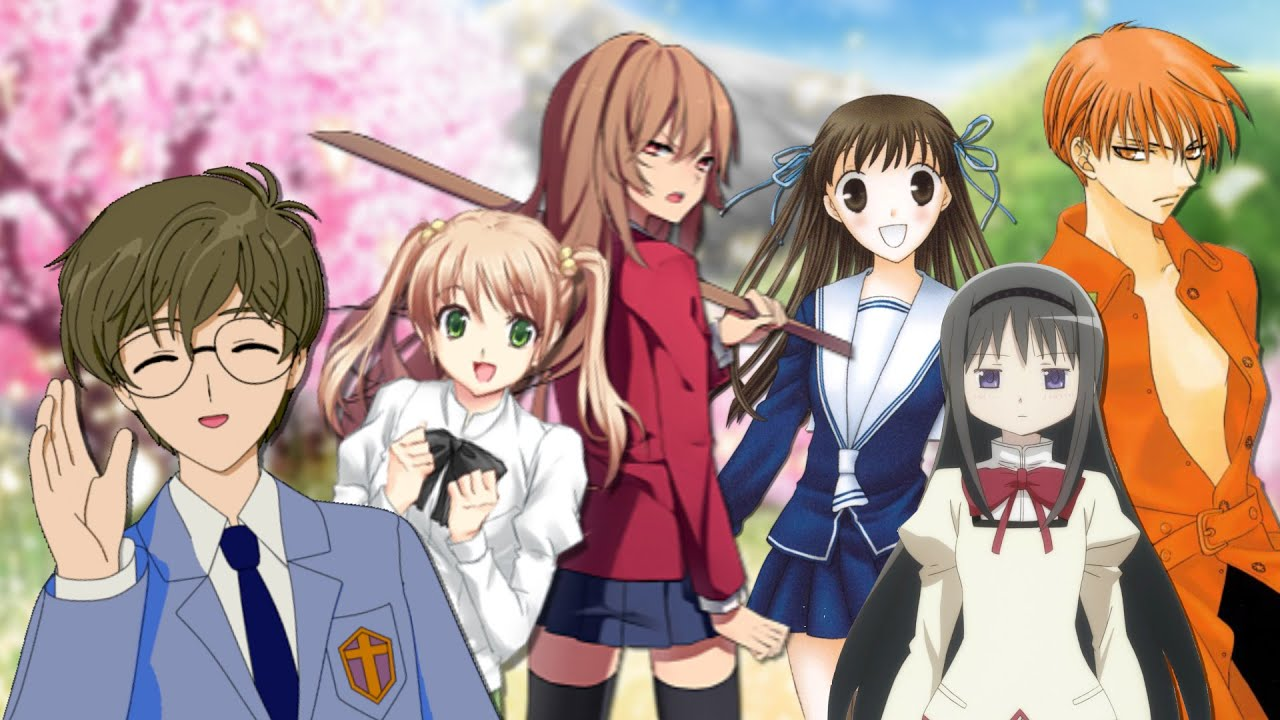 Kks Girl Wallpaper 9 Characters You Will Find In Every Shoujo Anime Youtube