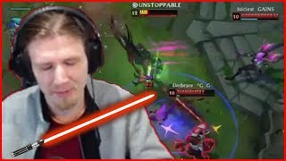 HASHINSHIN BECOMES ONE WITH THE FORCE - Best of LoL Streams #320