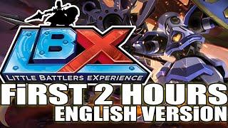 LBX: Little Battlers eXperience / First 2 Hours gameplay