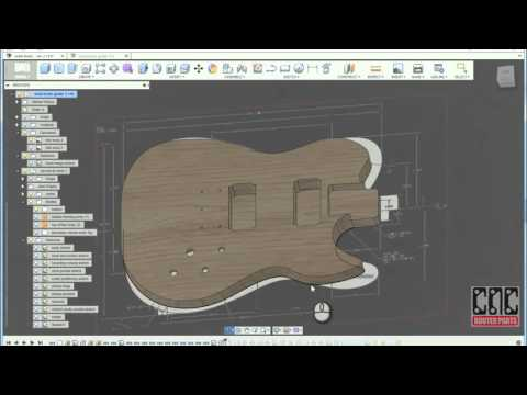 Customizing the 3D Sculpted Guitar Design in Fusion 360