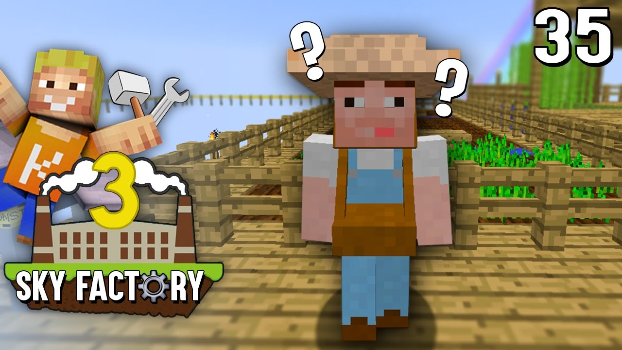 Lpmitkev server ip  DUMMER FARMER ! Zu dumm zum ... | Minecraft SKY Factory 3 #35 ...