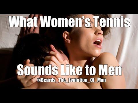 What Women's Tennis Sounds Like to Men.