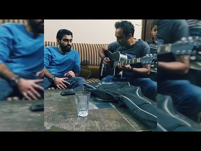 Aietbar Live and Unplugged Finger Picking and Heart touching version