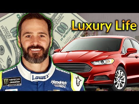 Jimmie Johnson Luxury Lifestyle | Bio, Family, Net worth, Earning, House, Cars
