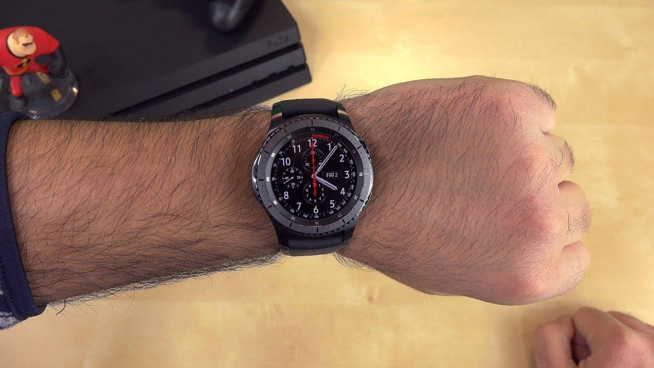 Samsung Gear S3 Kutu Açma izle video İlk izlenim l Apple Watch ile Kıyaslama