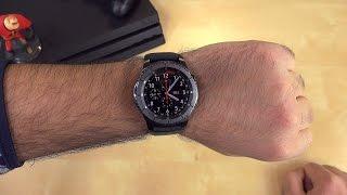 Samsung Gear S3 Kutu Açma I İlk izlenim l Apple Watch ile Kıyaslama