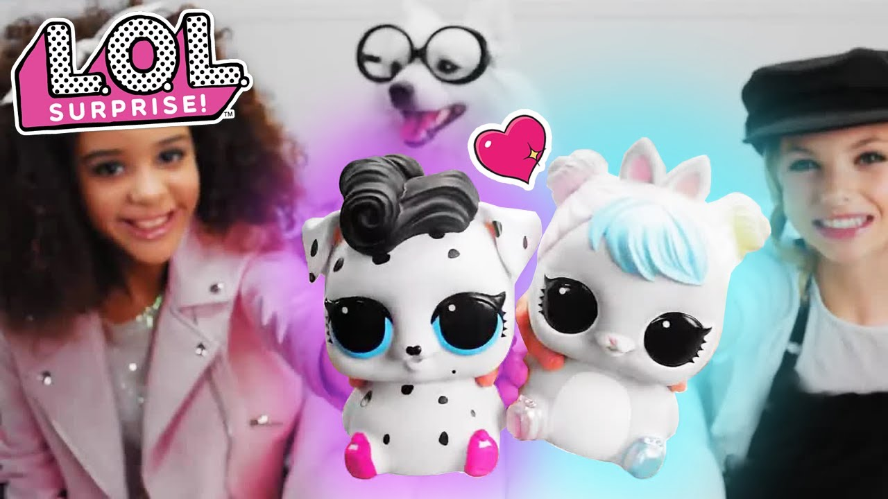 Lol Surprise New Eye Spy Series Biggie Pets 30 Commercial