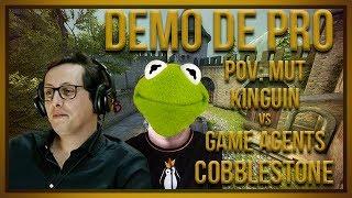 [PT] zorlaK Analisa: PoV MUT - KINGUIN vs GAME AGENTS - COBBLESTONE [Demo de Pro]