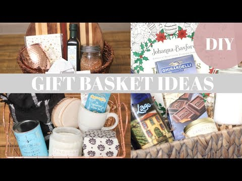 GIFT BASKET IDEAS + DIYS || Katie Bookser