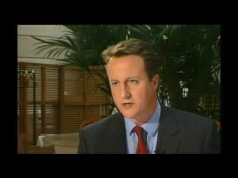 29 September 2005 BBC1 - 10 O Clock News on David Cameron Tory leadership