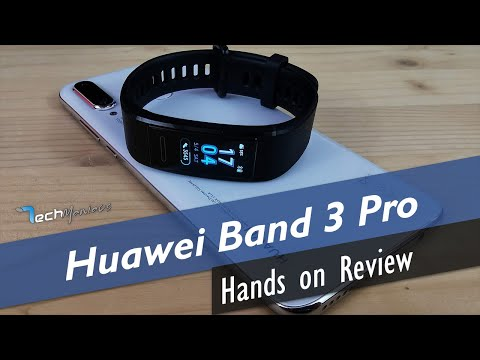 Huawei Band 3 Pro Hands On Review [Greek]