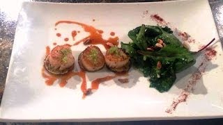 Healthy Cooking With Chef Mark Mckinney- Seared Scallops, Sauteed Greens And Key Lime Agrodolce