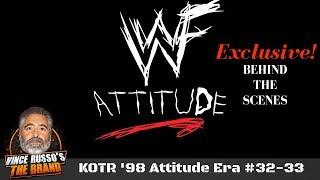 WWE Attitude Era (WWF) w/ Vince Russo & Ed Ferrara Archive: EPISODES #32-33 King of the Ring 1998