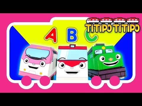 Titipo Songs l Learn ABC l Tayo Nursery Rhymes l Tayo the Little Bus
