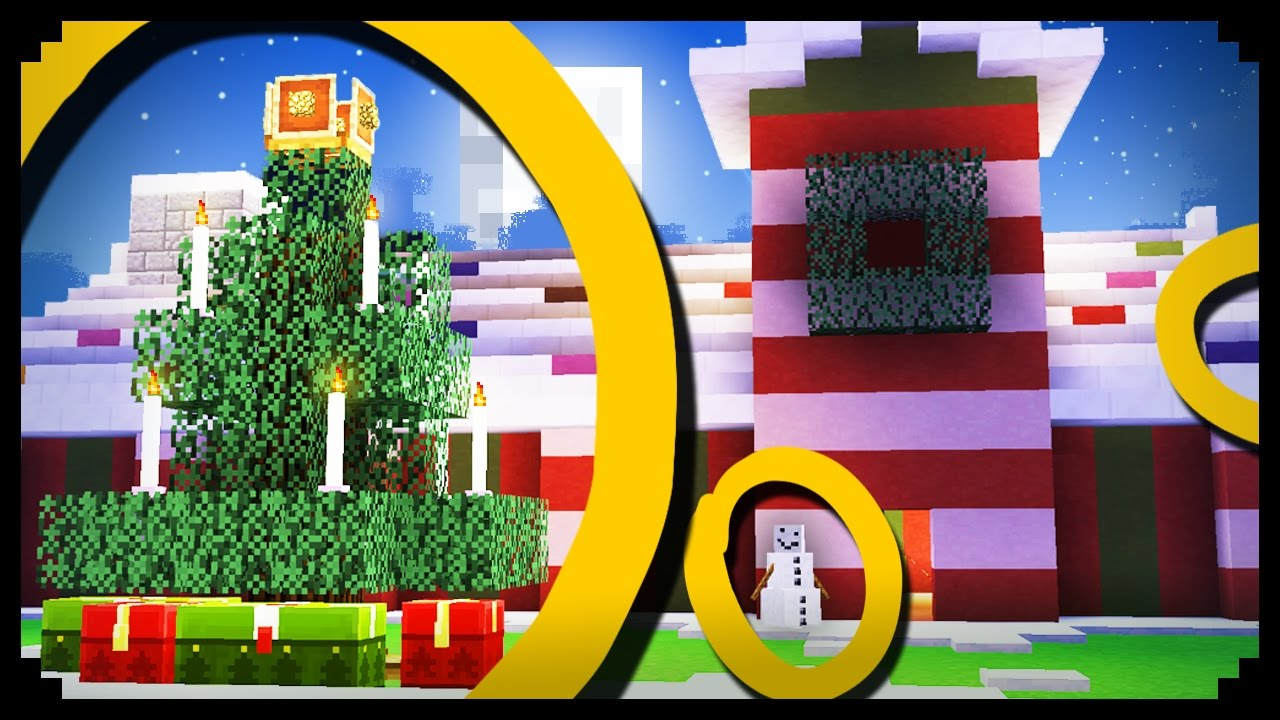 Christmas Minecraft Decorations.Minecraft 10 Christmas Decoration Ideas