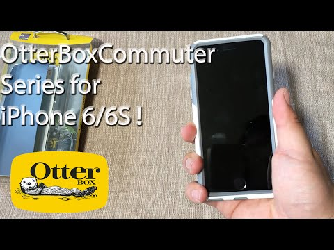 iPhone 6S: OtterBox Commuter Series Case | Glacier + Screen Protector