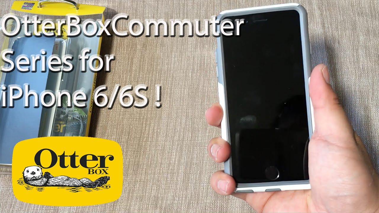 wholesale dealer c8d95 d16ea iPhone 6S: OtterBox Commuter Series Case | Glacier + Screen Protector