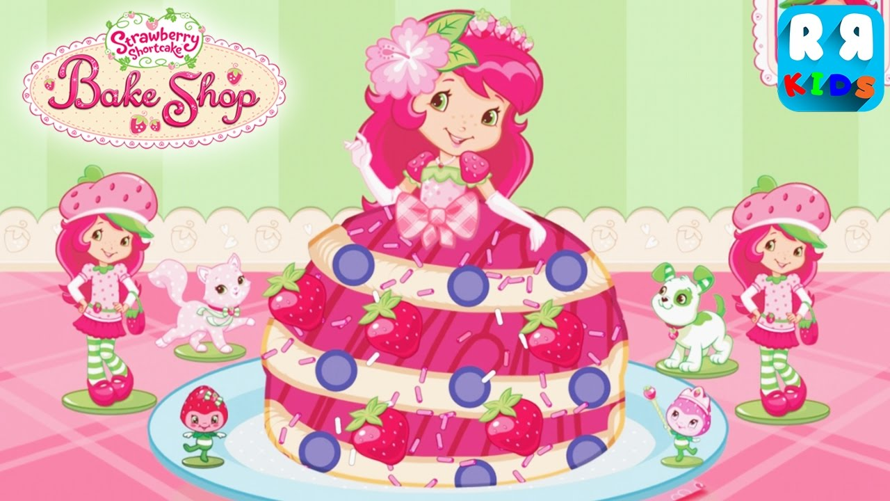 Strawberry Shortcake Bake Shop Princess Cake