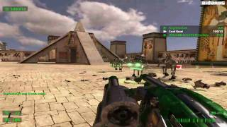 Serious Sam HD: The First Encounter (PC) Coop Online Gameplay - Dunes (HD)