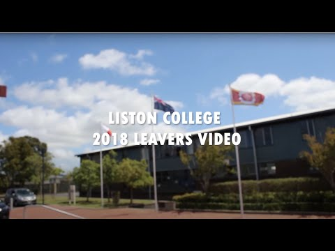 Liston College Leavers Video 2018.