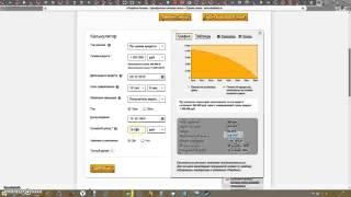видео Сбербанк Ипотечный калькулятор