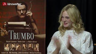 Interview Elle Fanning TRUMBO