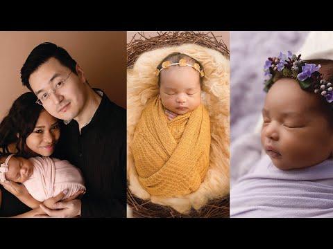 Most Adorable Asian-African Baby Girl (Korean-Filipino-Sudanese)