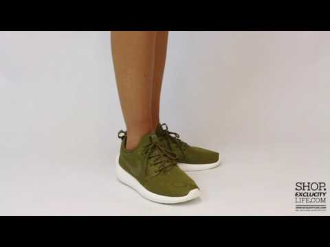 8108c9bca3 Women's Nike Roshe Two Flax Olive On feet Video at Exclucity - YouTube