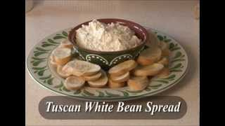 Just A Taste: Tuscan White Bean Spread
