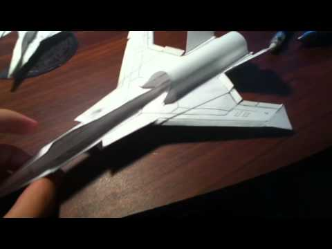 "Paper YX-01 ""NightBat"" and Project_YX Intro w/ Discussion - (Original Design)"