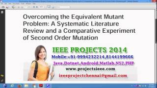 Overcoming the Equivalent Mutant Problem A Systematic Literature Review and a Comparative Experiment