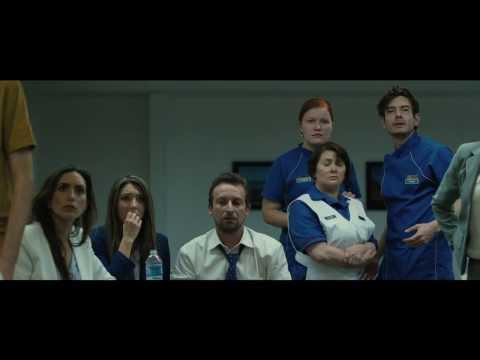 The Belko Experiment Trailer John Gallagher Jr  Sean Gunn, Michael Rooker, Adria Arjona